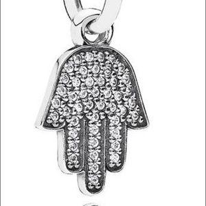 Pandora CZ Hand Of Fatima